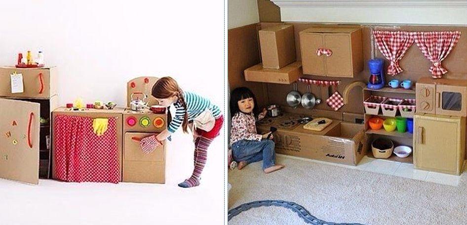 мебель игрушечная из картона своими руками